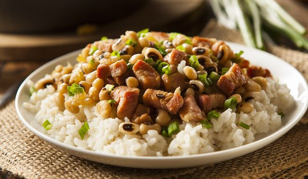 Hop on the Lucky Train (and Don't Gain Weight!) this New Year's with a Veganized Hoppin' John Recipe