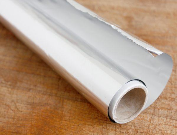Aluminum foil uses.