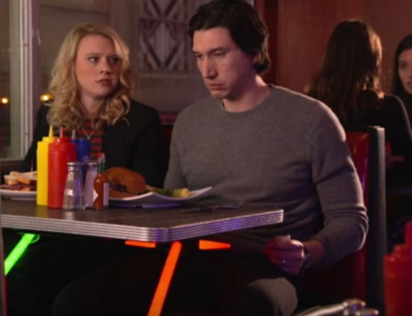 Adam Driver channels the sads.