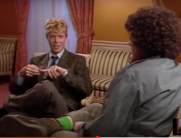 David Bowie tells it.