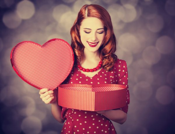 Sweetheart styles are perfect for Valentine's Day.