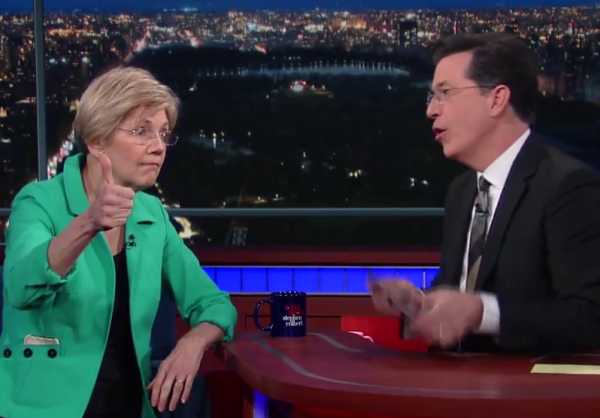 Elizabeth Warren has a lot of energy and wants to help the American people.