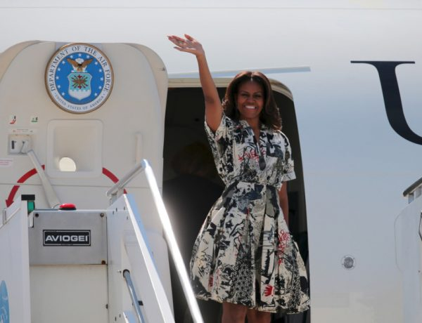 Michelle Obama has done it again, but this time, in song.