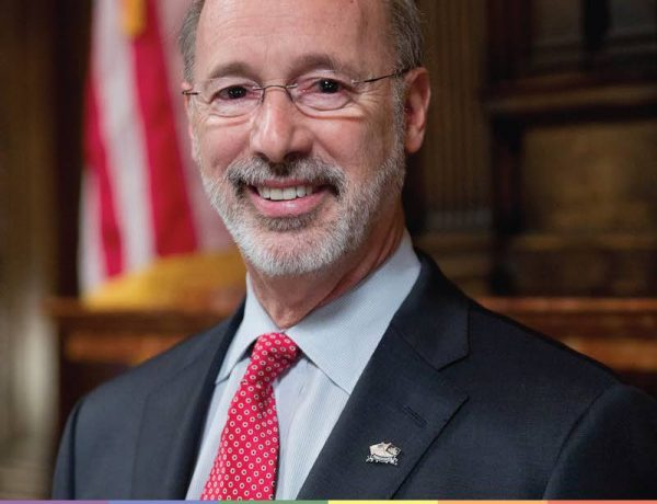 Tom Wolf is so over bigotry.