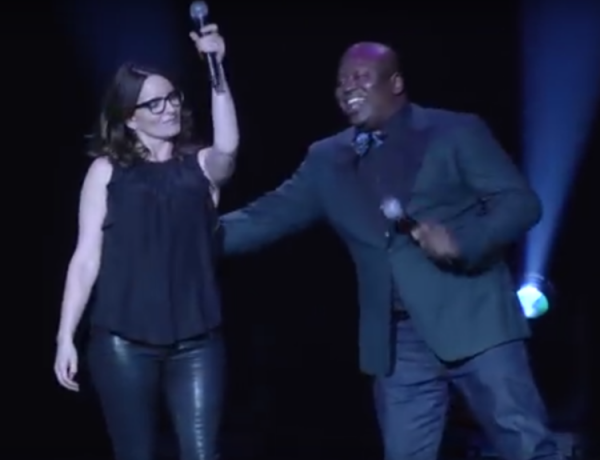 Tina Fey: Star of stage... and the world.