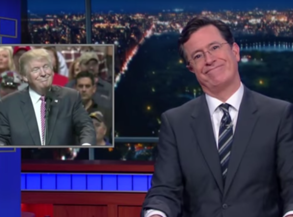 Stephen Colbert doesn't get Donald Trump's hair spray ref either.