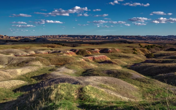 The Badlands look beautiful in this video.