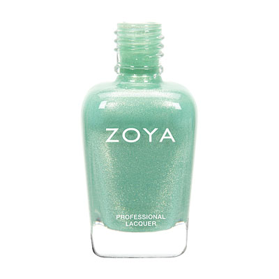 It wouldn't be a list of spring nail polish colors without sea foam green polish.