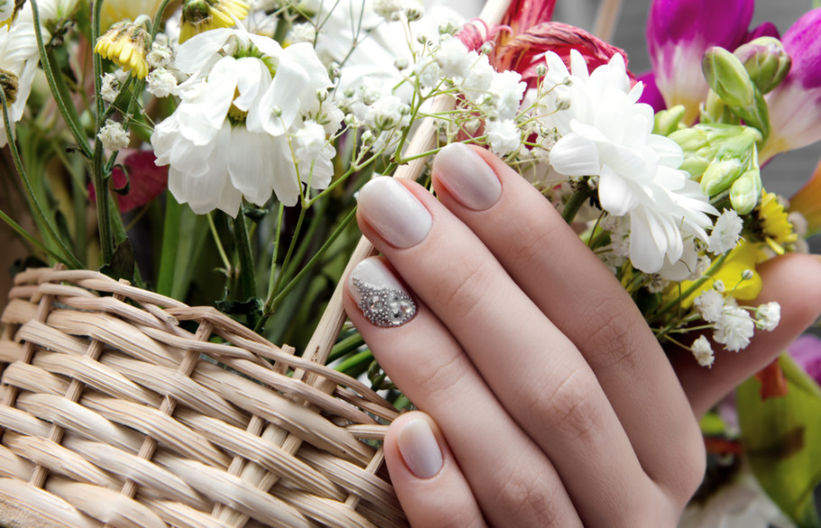 Spring nail polish colors come in bright and dark hues this year.