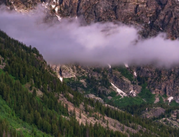 The Grand Teton area is worth a visit.