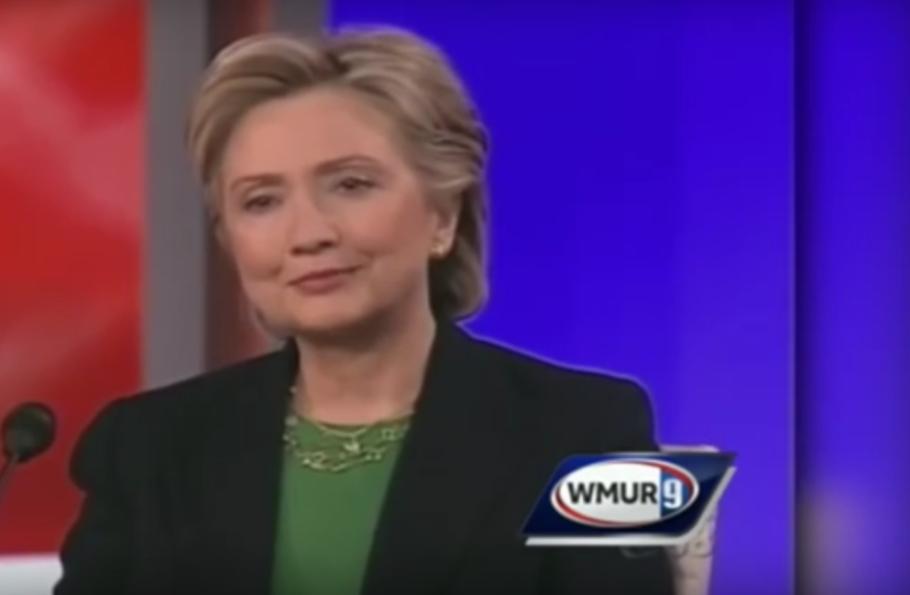 Hillary Clinton has nerves of steel.
