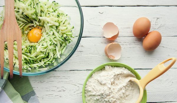 Zucchini flatbread recipe