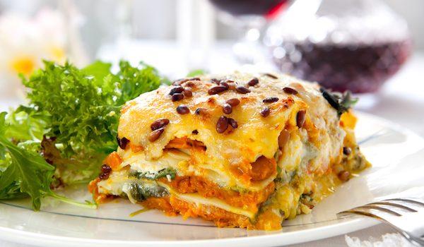 vegan pumpkin lasagna recipe