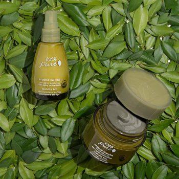 100% Pure Organic Matcha Skincare