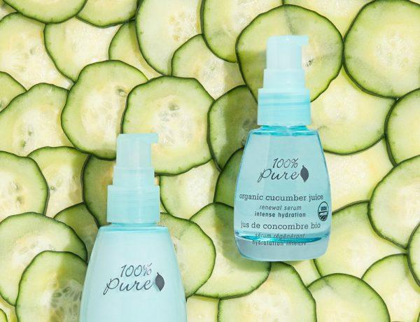 100% Pure Organic Cucumber Juice Skincare