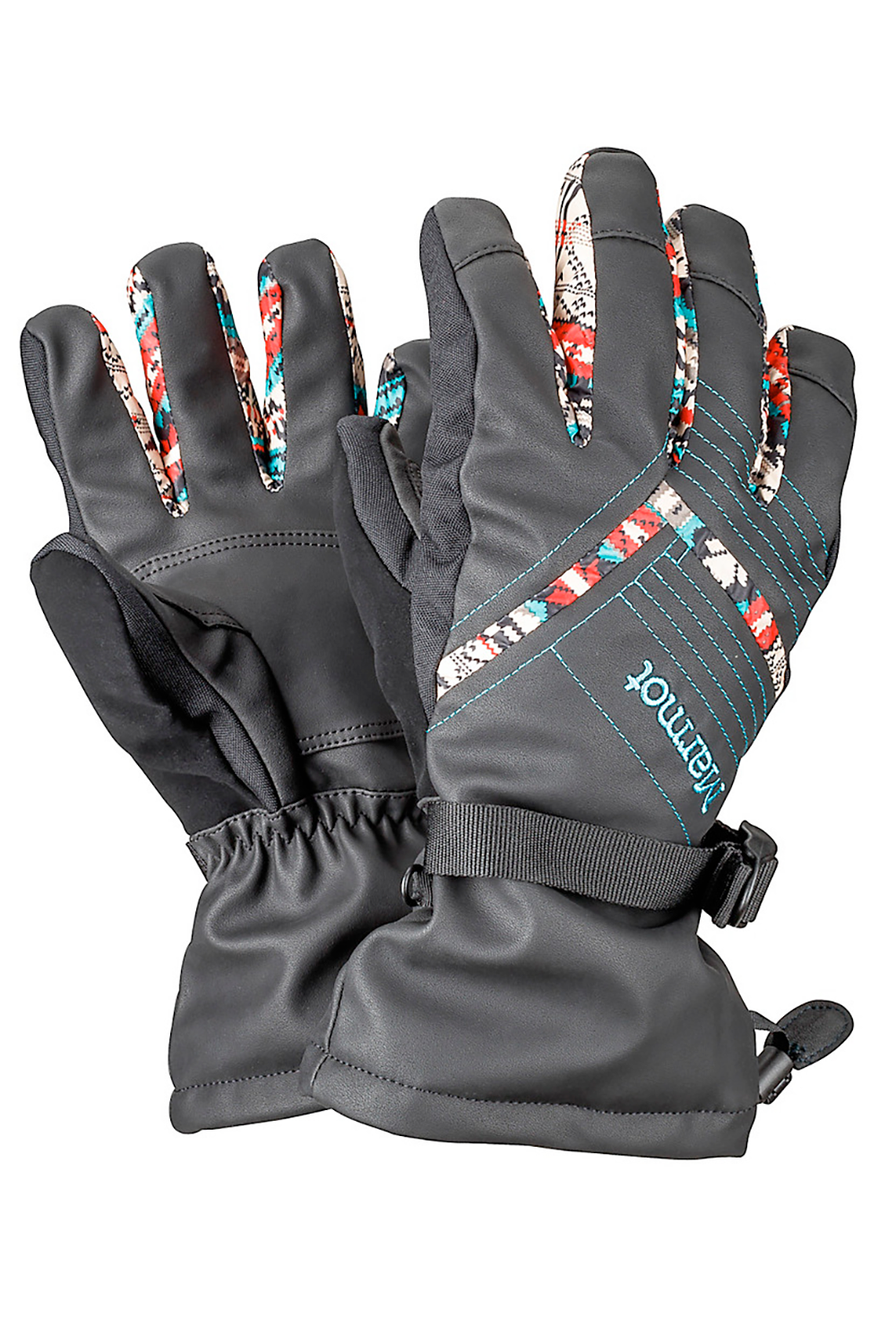 Marmot Faux Leather Gloves
