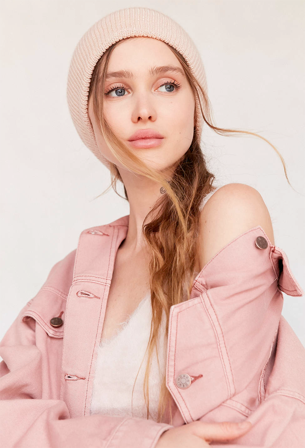 Urban Outfitters Slouchy Ribbed Beanie