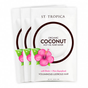 St. Tropica Organic Coconut Oil Hair Mask