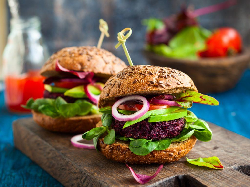 Beetroot and Barley Burger Recipe