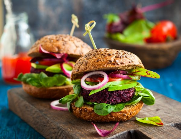 Beetroot and Barley Burger Recipe