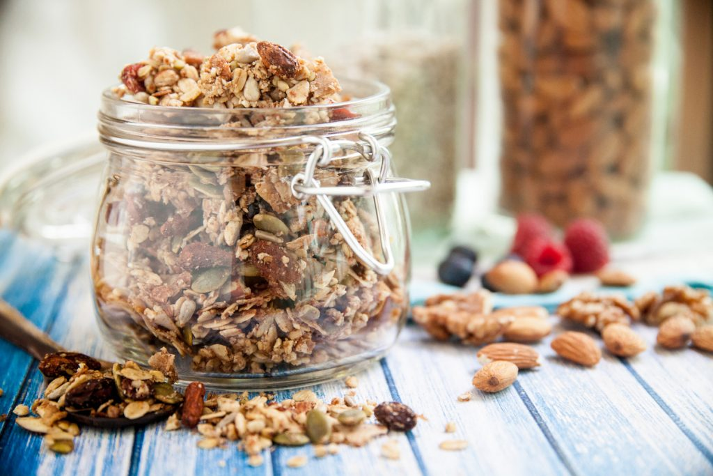 Homemade Granola Recipe Inspired by the Middle East