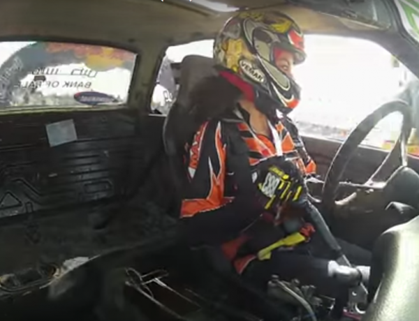 This women's racing team is insane.