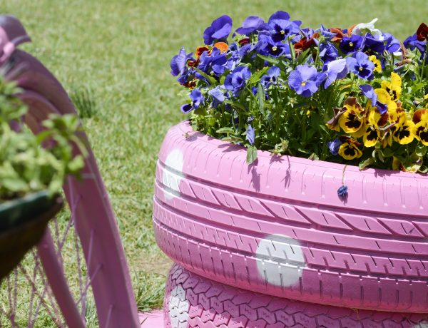 Springtme DIY ideas for indoor and outdoor.