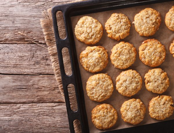 Lime and Coconut Cookies Recipe