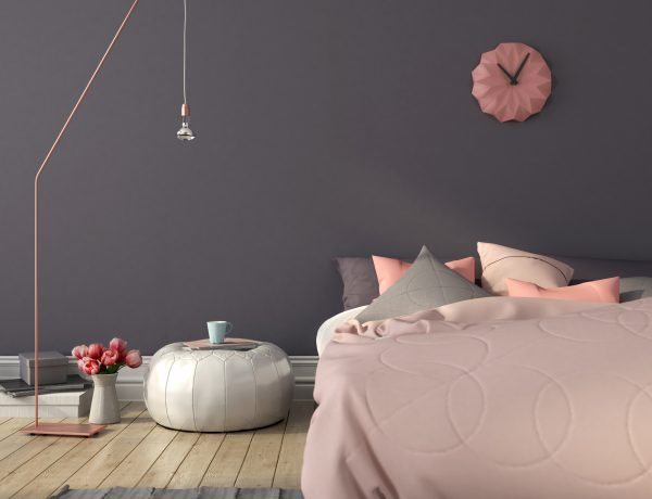 Pink decor ideas.