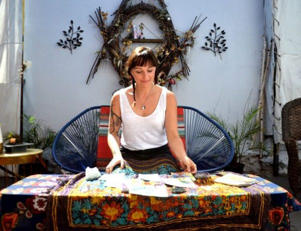 Justine Serebin, Owner of Earth Altar Studio: Why Your Tattoo Should Come With Tarot Cards