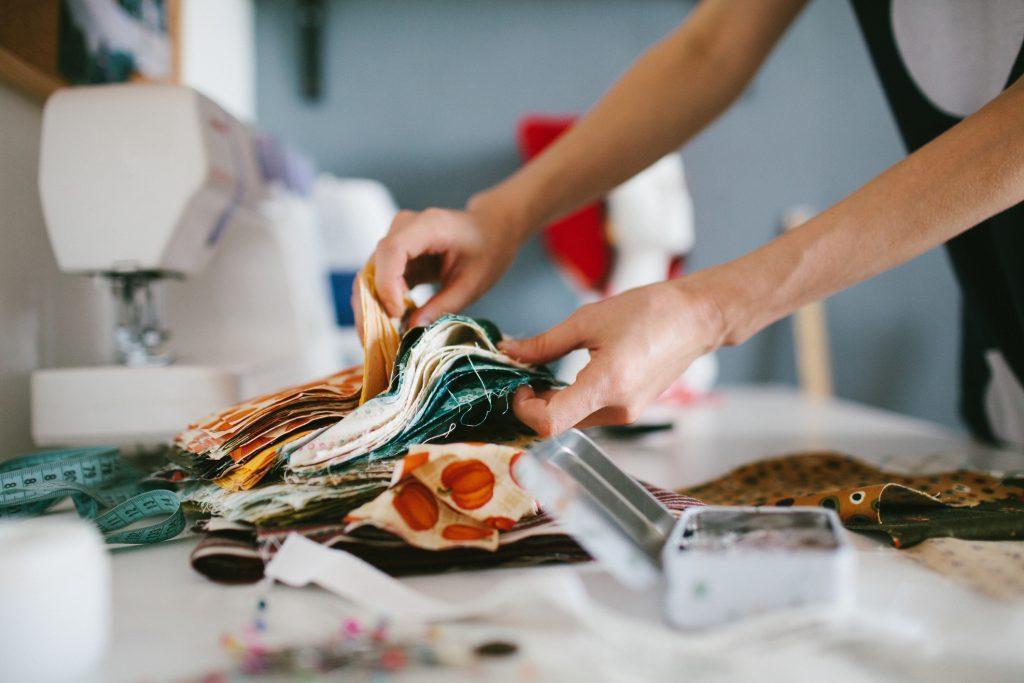 Repurposing textiles.