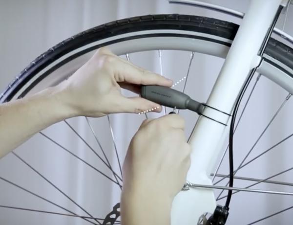 Shine a light on bike safety.