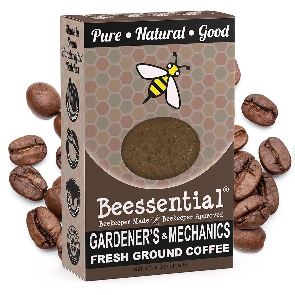 beessential coffee soap