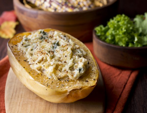 4-Cheese Stuffed Spaghetti Squash