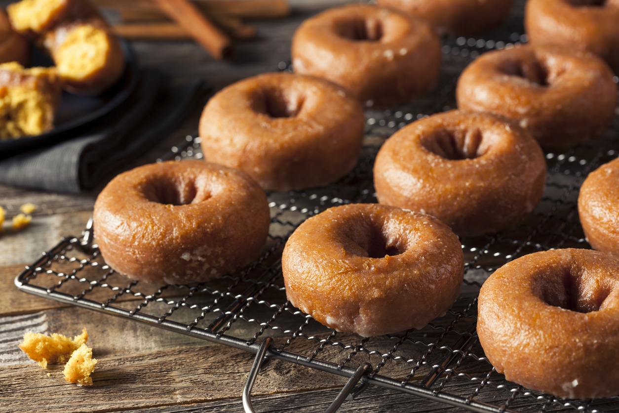 Enter title here Feast on Fall With Vegan Baked Apple Cider Doughnuts
