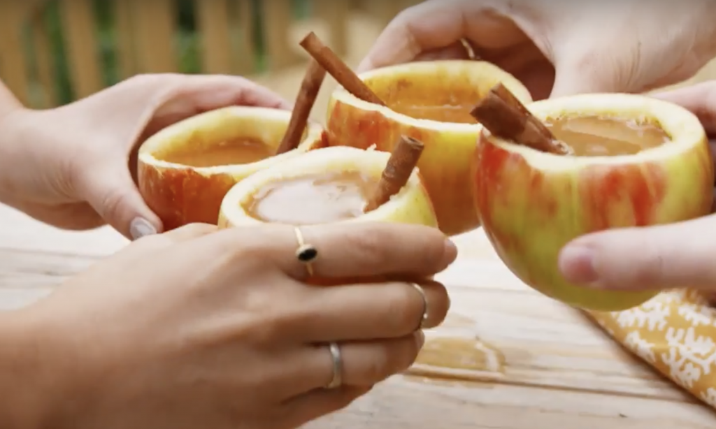 This boozy apple cider is easy to make.