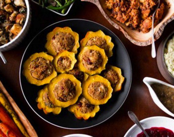 Vegan Thanksgiving Spread