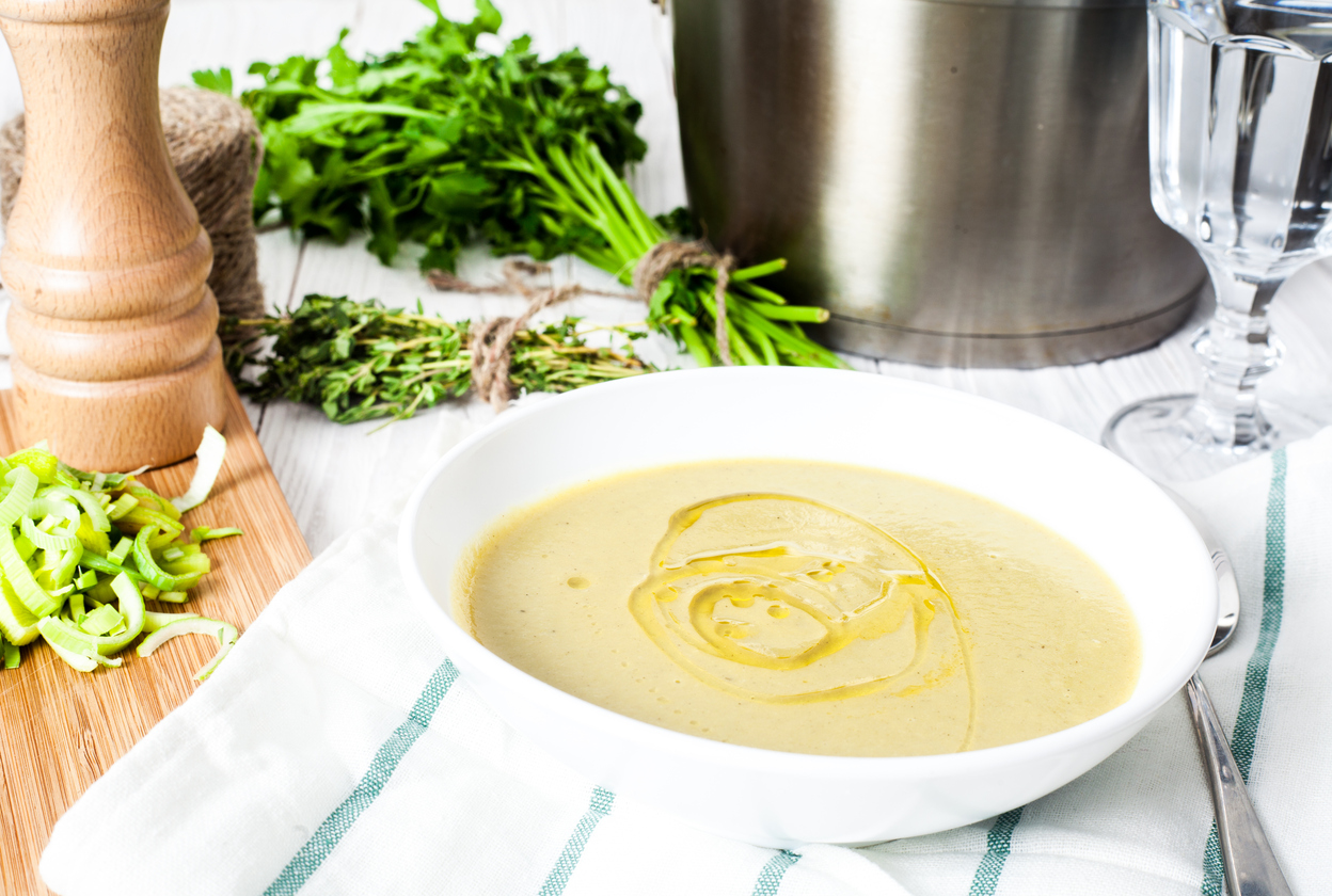 Cheesy Vegan Potato Soup (You Don't Need the Cream to Make Creamy Happen)