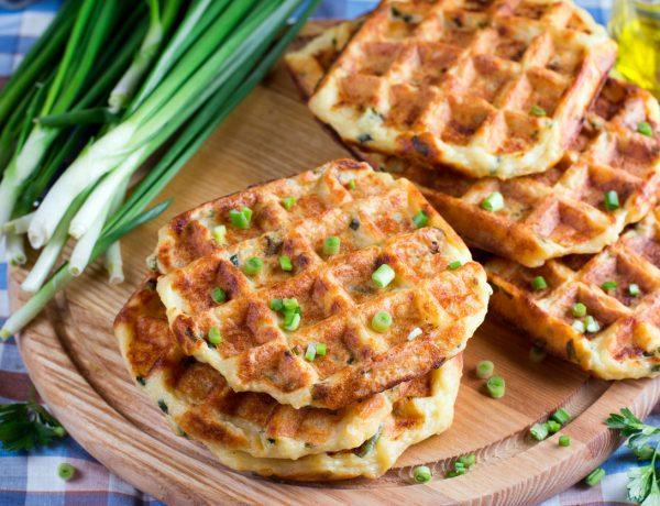 Savory Vegan Spaghetti Squash And Quinoa Waffle Recipe