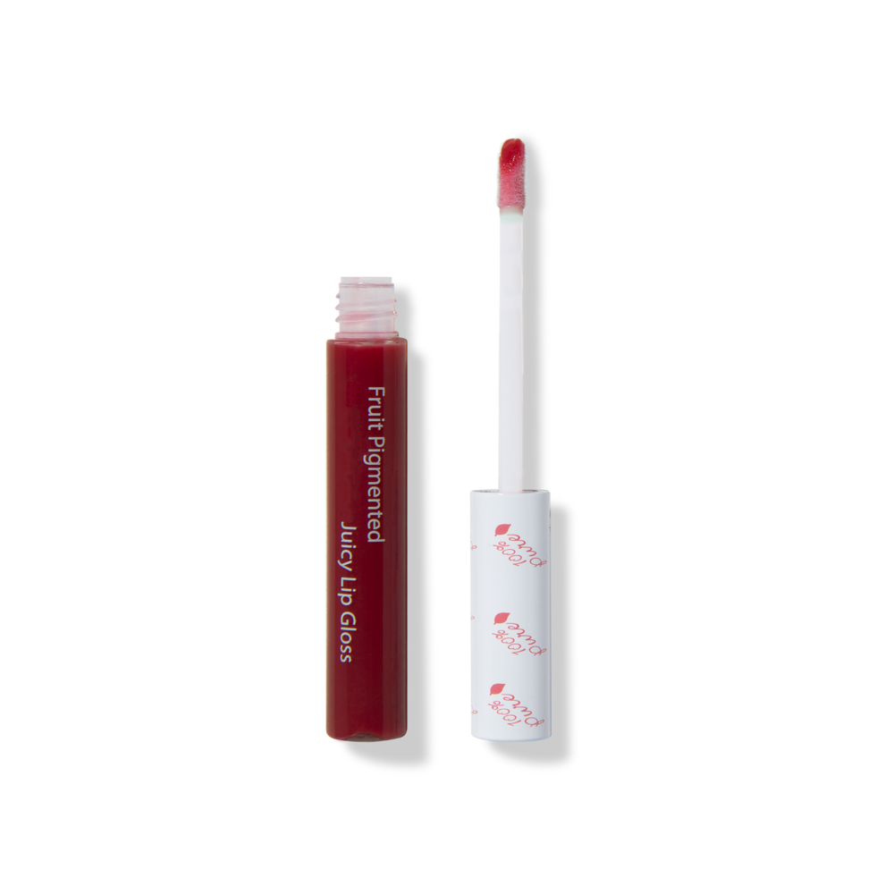 100 pure sheer cherry lip gloss