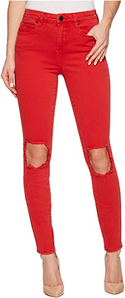Tomato Red Jeans