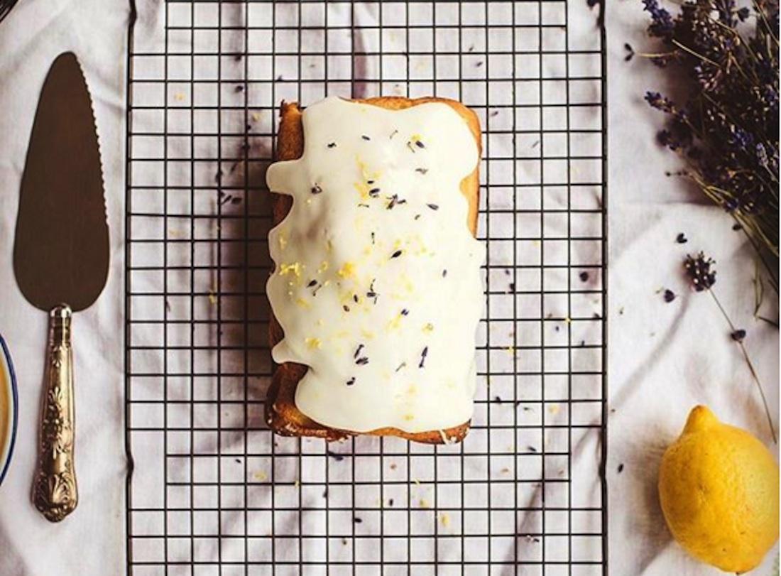Gluten-Free Lavender Cake
