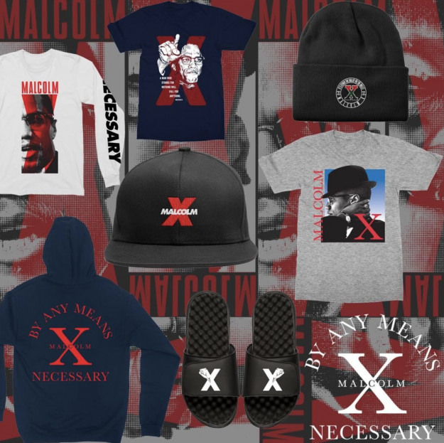 The new Malcolm X clothing line.