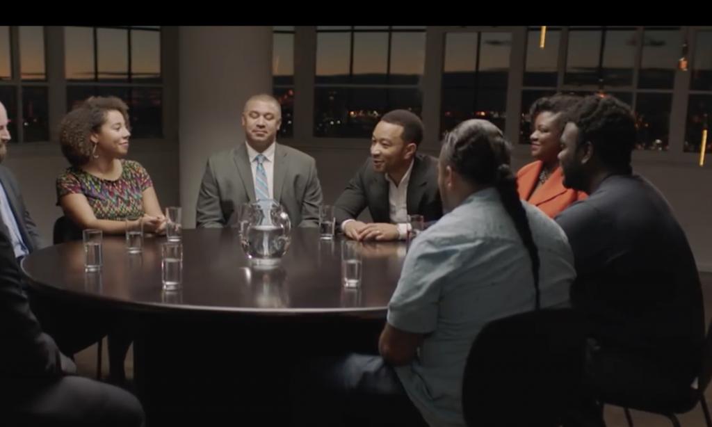 John Legend leads a great conversation.
