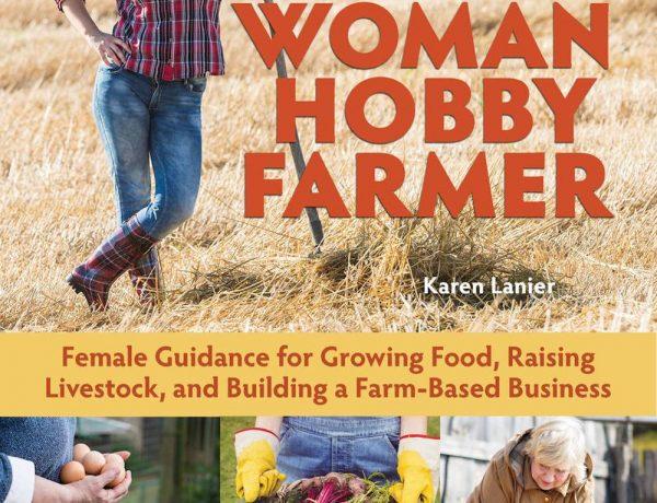 woman hobby farmer