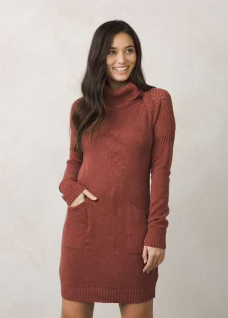 Red Umber Dress