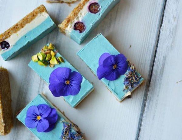 蓝色马吉克芝士蛋糕