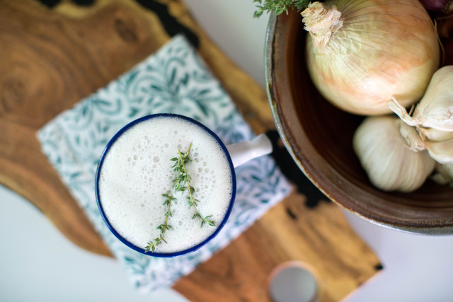 Epic bone broth latte