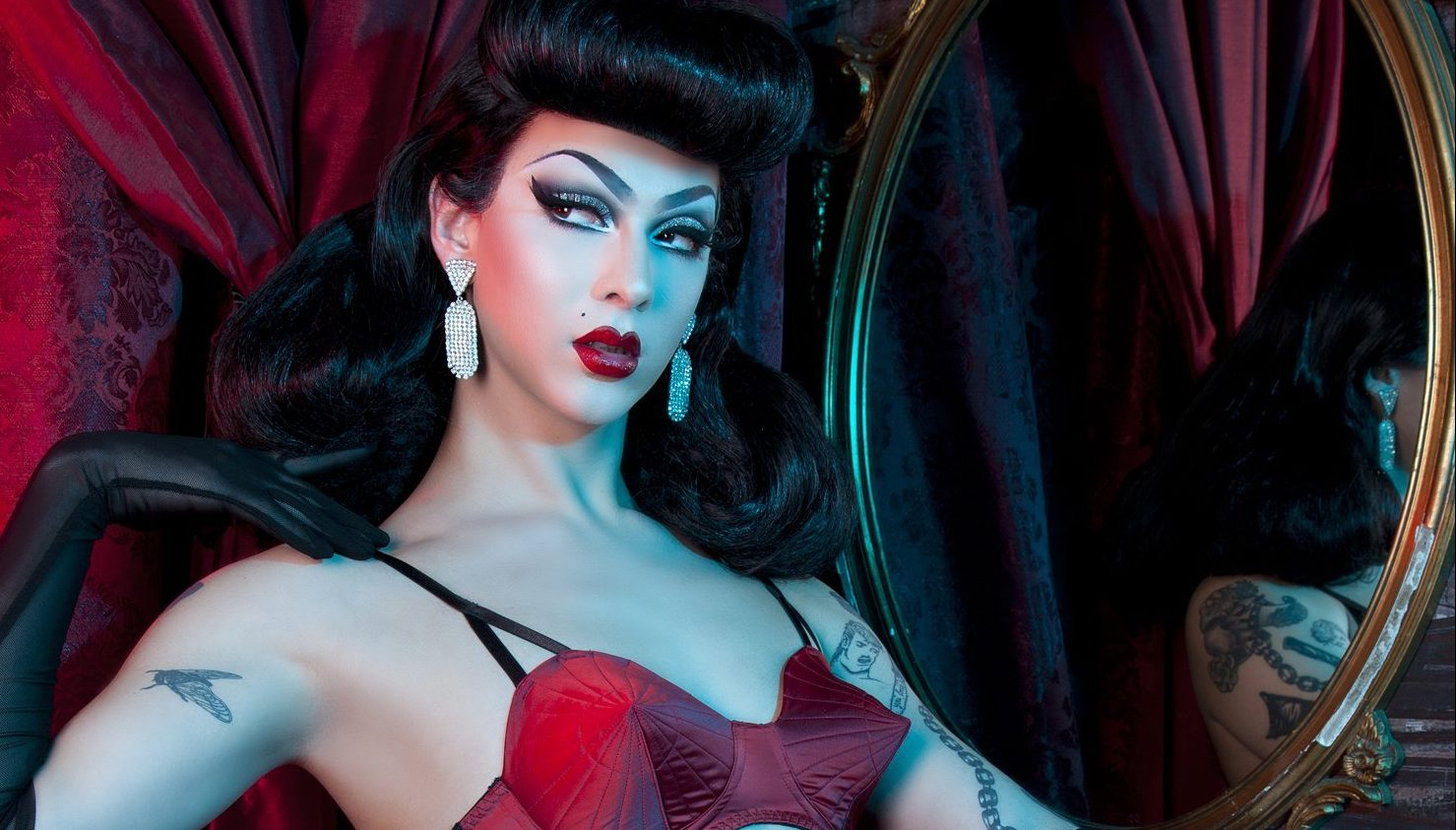 photo image Drag Performer Violet Chachki Featured in Lingerie Campaign