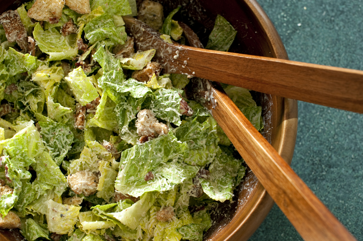 A Vegan Caesar Salad to Satisfy the Pickiest of Palates